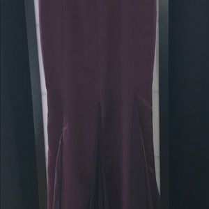 Other - Evening Gown strapless Burgundy corset size 6